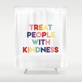tpwk rainbow Shower Curtain