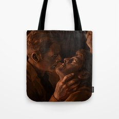 Destiel. Holy Hell Tote Bag
