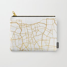 JAKARTA INDONESIA CITY STREET MAP ART Carry-All Pouch