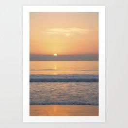 Amazing Andalusia Romantic Beach Sunset Art Print
