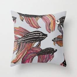 Betta Throw Pillow