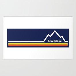 Revelstoke, British Columbia Art Print