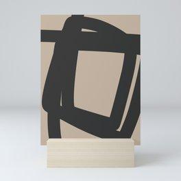 Neutral Abstract 4A Mini Art Print