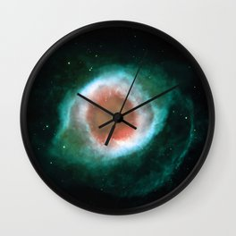 Eye Galaxy Wall Clock