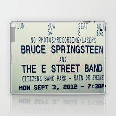 Bruce Springsteen & the E Street Band: Rain or Shine Laptop & iPad Skin