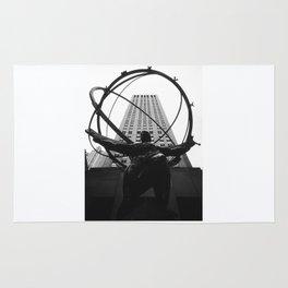 Atlas at the Rockefeller Center, New York Rug