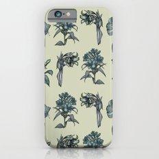 Botanical Florals | Vintage Blue iPhone 6s Slim Case