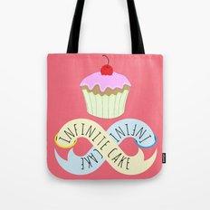 Infinite cake Tote Bag