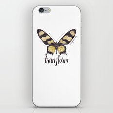 Butterfly - Hahnel's Amazonian Swallowtail - PARIDES HAHNELI By Magda Opoka iPhone & iPod Skin