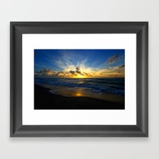 With Each Sunrise We Start Anew Framed Art Print