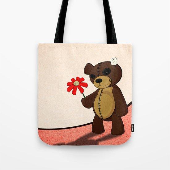 Sweet Teddy Tote Bag