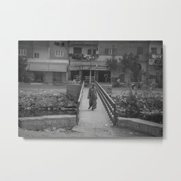 Citizen Of Cairo Metal Print