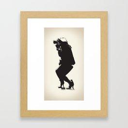 Nice Shot Framed Art Print