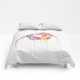 leichte Linien   (A7 B0134) Comforters