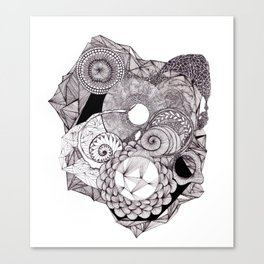 Little Patterns Canvas Print