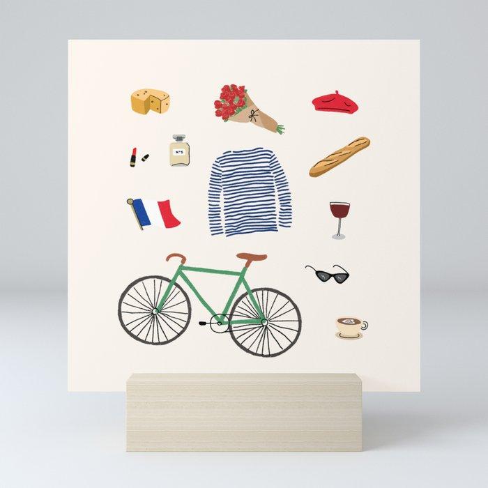 Paris, or Wherever We Are Mini Art Print