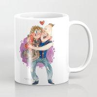 goonies Mugs featuring Goonies Hug by Super Group Hugs