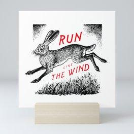 Run Like The Wind Mini Art Print
