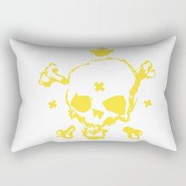 XXX Skull Rectangular Pillow