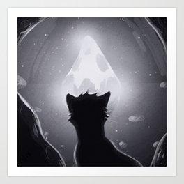 Moonstone Art Print