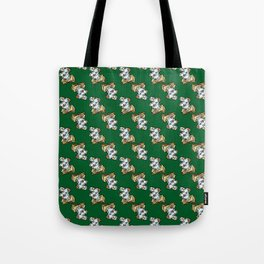 Magic Spellbook on Snake Green for Witch and Wizard School Tote Bag