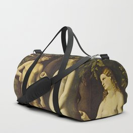 Adam and Eve Duffle Bag