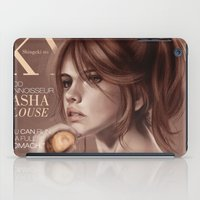 snk iPad Cases featuring SnK Magazine: Sasha by putemphasis
