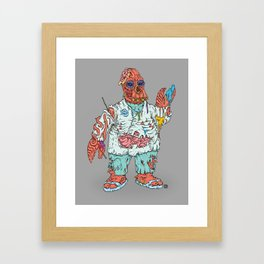 Zomberg Framed Art Print
