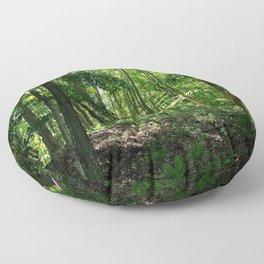 Pine tree woods Floor Pillow
