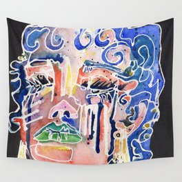 The Blue Queen Wall Tapestry