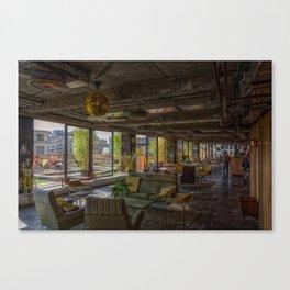 Bar Gloed Canvas Print