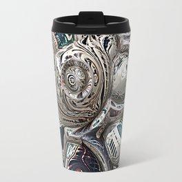Three Dimensional Reflections Travel Mug