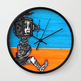 escaping the web Wall Clock