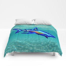 Pool Shark Knot Comforters