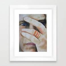 Deterioration Framed Art Print