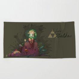Link! Beach Towel