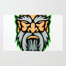 Cronus Greek God Mascot Rug