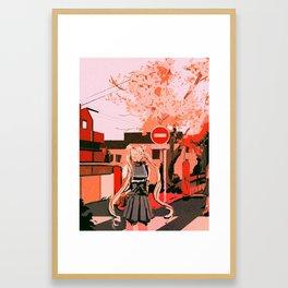 Huevember Framed Art Print