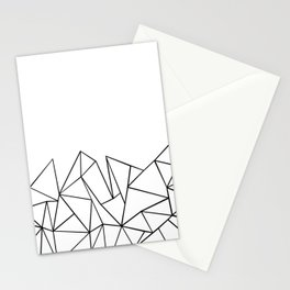 Ab Peaks White Stationery Cards
