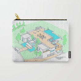 house by tereza del pilar Carry-All Pouch