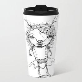 wild woman Metal Travel Mug