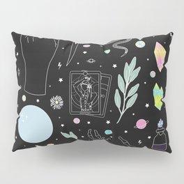 Crystal Witch Starter Kit - Illustration Pillow Sham