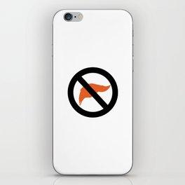 ANTI TRUMP Official logo iPhone Skin
