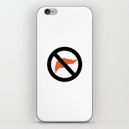 ANTI TRUMP Official logo iPhone Skin