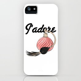 perfume Jadore iPhone Case