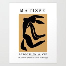 Matisse Cutout, Henri Matisse, Matisse Exhibition Art Print