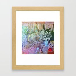Dimensional Medium  Framed Art Print