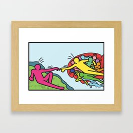 keith Creation Framed Art Print