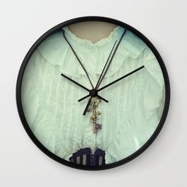 Copper Key Pendant in a vintage way... Wall Clock
