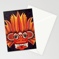 Sri Lankan Fire Demon Stationery Cards